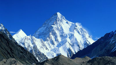 """K2 Mountain FAST FACTS ABOUT K-2 """"THE SECOND HIGHEST PEAK OF THE WORLD"""""""
